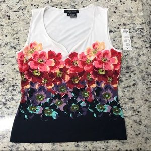NWT Floral Etcetera Top